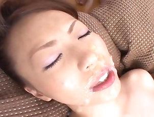 Asian,Blowjob,Cumshot,Facial,Group Sex,Hairy,Masturbation,Japanese,Close-up,Small Tits,JAV Uncensored,Straight Tomoe Hinatsu In An Overwhelming Orgy