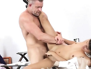 Blonde,Brunette,Doggystyle,Group Sex,Hd,Teen Japan bus crony's daughter and...