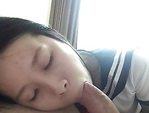 Amateur;Asian;Blowjob;HD Videos Ex Asian GF BJ