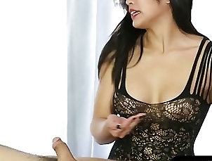 Footjob,massage, blowjob, footjob, asian, lingerie, pornstar Hot asian masseuse BJ and foot fetish...