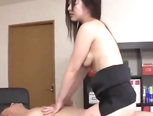 Asian,Japanese Maria ono slutty office lady dilakeni...