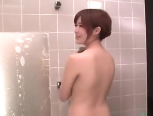 Asian,Big Ass,Big Tits,Creampie,Cumshot,Cunnilingus,Squirt,Straight,Yumi Maeda Mind blowing shower sex scenes with...