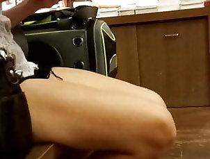 Asian;Voyeur;HD Videos Candid asian legs