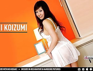 Asian;Teen;Japanese;HD Videos;Big Tits;Cowgirl Big breasted cutie Emi Koizumi blows...