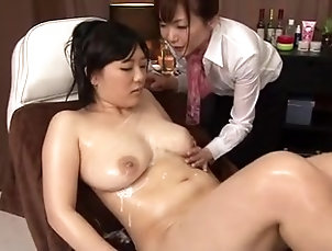 Cumshots,Lesbian,Massage,Japanese,Threesomes Lesbian and hardcore sex in a free...