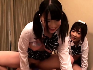 Amateur,Asian,Hardcore,Hd,Japanese,Teen,Threesome Supercute Japanese schoolgirls sucks...