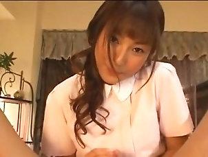 handjob;nurse;japanese;kotono;pov,Cumshot;Japanese handjob