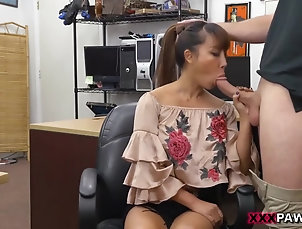 Asian,Big Ass,Big Cock,Big Tits,Brunette,HD,Interracial,Office,POV,Straight,Tiffany Rain She has some of the sexiest milk duds...