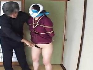 bdsm;bound-and-gagged;japanese-bondage,Bondage;Japanese Bondage with OTM & OTN gag...