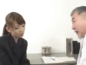 Oldie,Japanese,Softcore,Secretary,Medical Teasing old Doc