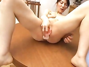 Masturbation;Japanese;MILFs;Dildo;Wife;Japanese Hot;Hot Wife Hot Japanese wife Masturbate 24