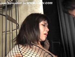 Fetish,HD,Japanese,JAV Censored,Fishnet,Straight Crazy Japanese whore in Horny...