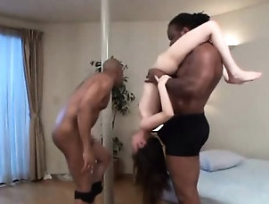 Asian,Hardcore,Interracial,Japanese,Threesome Black big dick man tiny asian pussy...