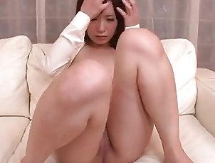 Japanese;Asian Tsukushi blows before enjoying cock...