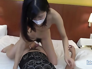 Amateur,Asian,Babe,Cowgirl,Doggystyle,Hardcore,Japanese,JAV Uncensored,Skinny,Small Tits Jav College Girl Yuiki Fucks...