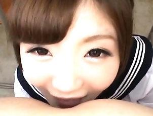 Asian,Blowjob,Fetish,Japanese,POV Sexy bukkake pleasure for young beauty