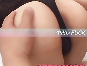 Asian,Asian Ayumi gets a big dong to enlarge her...