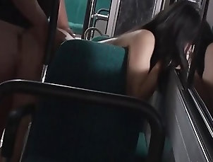 Japanese;Threesome;Bus,hd Jav Idol Suzu Yamai Fucks At The Bus...
