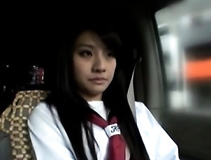 Asian,Blowjob,Fingering,Public,Teen,Uniform Clean hairless hotty fucked