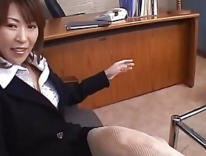 Asian,asian, japanese, mature, blowjob, pov Asian secretary gives head for cum in...