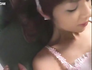Asian,Cunnilingus,Stockings,Japanese,Doggy Style,Straight,JAV Censored,vjav.com Crazy Japanese chick in Exotic...