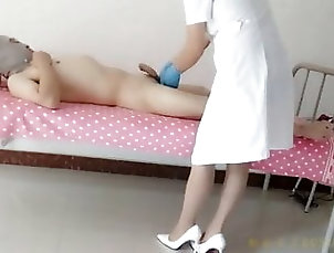 Anal;Asian;Brunette;Mature;Bisexual;Femdom;Examination;Fisting;Nurse;Friends;Pantyhose;Doctors;Gloves;Penetration;Fisted;Message;Yang;Nurse Gloves Medical abuse, yang exchange, add...