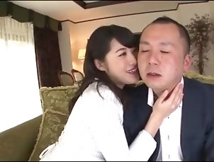 chubby;kiss;sucking;tongue;wet;tongue,Fetish;Japanese Miki Sunohara lipstick kissing