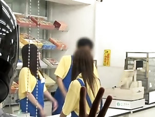 Asian,Blowjob,Japanese,Public,Reality,Teen,Uniform Excited idol drilled for hours