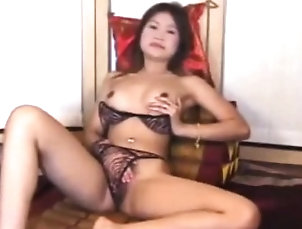 Asian,Fingering,Lingerie,Masturbation,Solo Phillipines Teen Plays With Her Pussy...