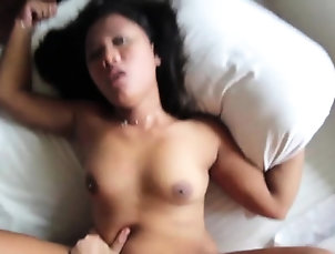 Amateur,Asian,Hairy,Hardcore,Teen,Thai Donga rams captivating oriental...