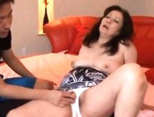 Amateur,Asian,Big Boobs,Fingering,Mature Arousing mature groans hard as shaggy...