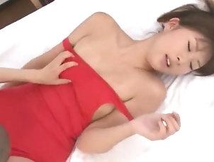 Asian,Japanese,Doggy Style,Small Tits,Straight,JAV Censored Exotic Japanese girl Misaki Oishi,...