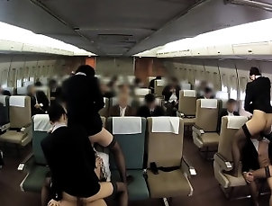 Asian,Japanese,Public,Stockings,Uniform Hospitality Also Shy Oma Co Aviation...