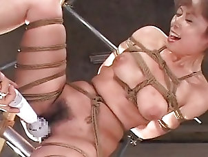 BDSM;Bondage,BDSM,BDSM Extreme Movies,Bondage,Bondage Porn Videos,Cruel Sex Scenes,Discipline,Domination,Humiliation,Punishment,Slave Girls,Slavery,Submission Asian honey roped up getting toy...