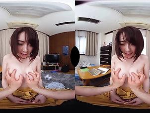 Asian,Fingering,Japanese,Masturbation,POV,VR Porn,SexLikeReal,Tsubasa Hachino Tsubasa Hachino I Love You So Much!...