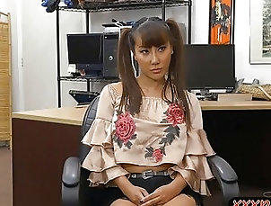 Asian,Asian Asian woman pawns her pussy then...