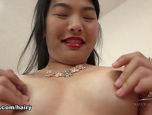 Asian,Big Butt,Hairy,Masturbation,Solo Girl,Teens,Lingerie,Small Tits,ATKHairy Nari Park in Masturbation Movie -...