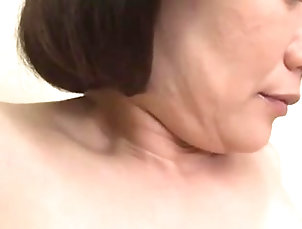 Mature,Oldie,Japanese Big-titted Japanese milf in a...