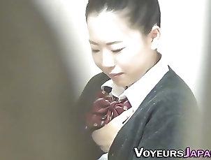 Asian;Masturbation;Teens;Voyeur;Voyeur Japan TV;HD Videos;Rubbing Teen in uniform rubbing