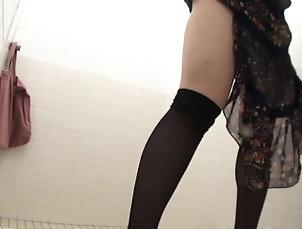 Asian,Fetish,Hairy,Hd,Japanese,Solo,Stockings,Voyeur Asian sluts pee in toliet