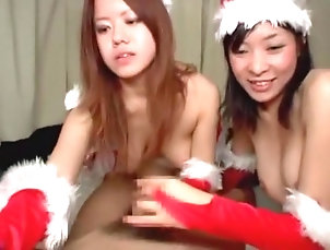 Asian,Big Tits,Blowjob,Japanese,Threesomes,Straight,JAV Censored,vjav.com Crazy Japanese slut in Horny Big...