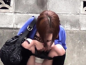 Asian,Fetish,Hd,Hidden Cams,Outdoor,Public,Teen Kinky asian pees street