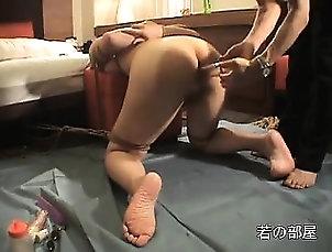 Amateur,Asian,Ass,BDSM,Fetish,Fingering,Toys Asian bdsm pussy toying bondage
