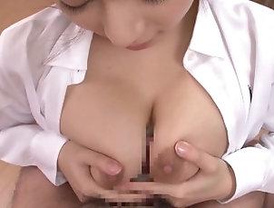 kink;big;boobs;永作ゆう美;hカップ;爆乳;パイズリ;挟射,Big Tits;Fetish;Japanese 【永作ゆう美】Hカップ爆乳...