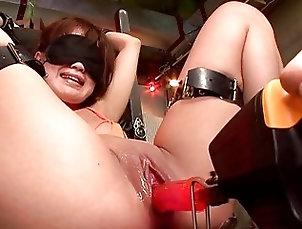 Asian;Blowjobs Blindfolded Asian cocksucker got her...