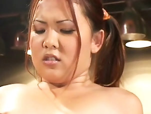 Asian,Blowjob,Doggystyle,Small tits,Teen Teen gets her cum-hole fingered and...
