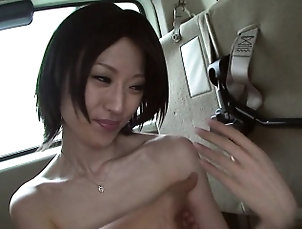 Asian,Blowjob,Glory hole,Hd,Outdoor,POV,Public Sucking his dick and she loves the...