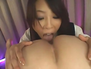 Asian,Dildos/Toys,Rimming,Femdom,Japanese,Straight,JAV Censored Hottest Japanese chick Nanae...