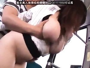 Amateur,Asian,Big Boobs,Doggystyle,Japanese,Public,Reality,Voyeur Big boobs slut sex in public