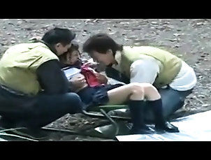 Amateur,Asian,Blowjob,College,Doggystyle,Gangbang,Japanese,Outdoor,Reality Cute Asian In An Outdoor Gangbang